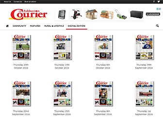 Ashburton's The Courier Digital Edition