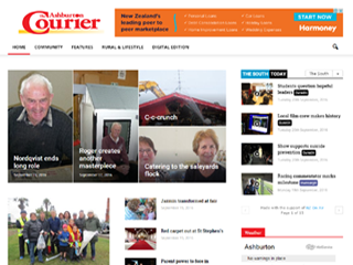Ashburton's The Courier