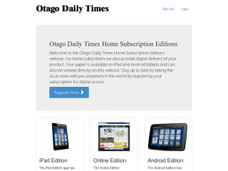 The Otago Daily Times E-Edition